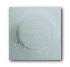 Лицевая панель ABB Impuls диммера серебристо-алюминиевый 2CKA006599A2923