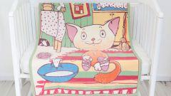 Baby nice Одеяло детское Кот на кухне