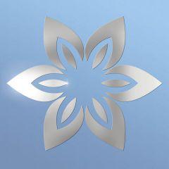 Декор настенно-потолочный Ваша Светлость ЛИЛИЯ-6 хром 2-00401CR Комплект наклеек