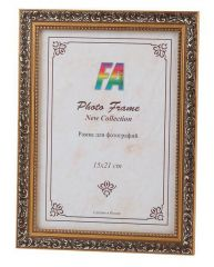 Фоторамка FA пластик Шелковый путь золото 10х15 (48/1152) Б0050004