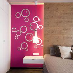Декор настенный Ваша Светлость КОЛЬЦО-3 хром 1-00201CR Комплект наклеек