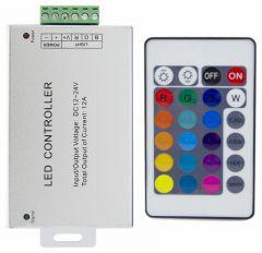 Контроллер-регулятор цвета RGB с пультом ДУ Apeyron Electrics C4-02
