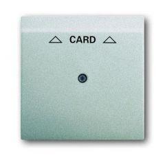 Лицевая панель ABB Impuls выключателя карточного серебристо-алюминиевый 2CKA001753A0080