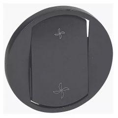Лицевая панель Legrand Celiane переключателя вентиляции графит 067961