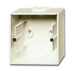 Коробка для накладного монтажа 1-постовая ABB Basic55 chalet-белый 2CKA001799A0968
