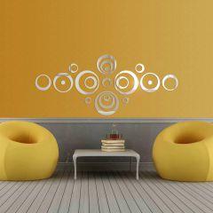 Декор настенный Ваша Светлость ОРБИТА-3 хром 1-00101CR Комплект наклеек