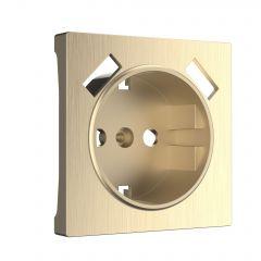 Werkel Накладка для розетки USB (шампань рифленый) W1179510
