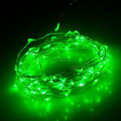 Светодиодная гирлянда ARD-CLASSIC-DEW-5000-CLEAR-100LED-STD Green (12V, 2.1W) ( Ardecoled , IP65)