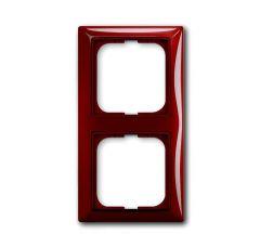 Рамка 2-постовая ABB Basic55 foyer-красный 2CKA001725A1517