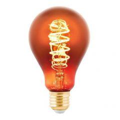 Лампа светодиодная Eglo E27 4W 2000K медная 11881