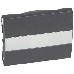 Клавиша Legrand Galea Life выключателя с индикацией держателем этикетки темная бронза 771217