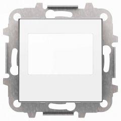 Лицевая панель ABB Sky цифрового FM‐радио альпийский белый 2CLA856800A1101
