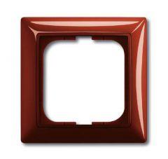 Рамка 1-постовая ABB Basic55 foyer-красный 2CKA001725A1516
