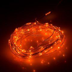 Светодиодная гирлянда ARD-CLASSIC-DEW-5000-CLEAR-100LED-STD Orange (12V, 2.1W) ( Ardecoled , IP65)