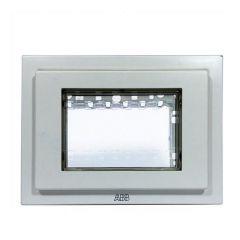 Рамка монтажная ITA 3-модульная ABB Zenit IP55 серый N3373 GR