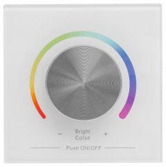 Панель-регулятора цвета RGB роторный встраиваемый Apeyron Electrics 04-14