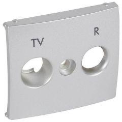 Лицевая панель Legrand Valena розетки TV-R алюминий 770142