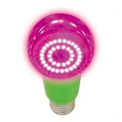 Лампа светодиодная для растений (UL-00004581) Uniel E27 8W прозрачная LED-A60-8W/SPSB/E27/CL PLP30GR