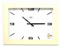 Настенные часы (65x45 см) SARS 0196a White