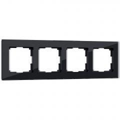 Werkel Рамка на 4 поста (черный) W0041108