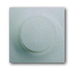 Лицевая панель ABB Impuls диммера поворотного серебристо-алюминиевый 2CKA006599A2921