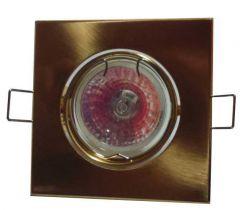 Точечный светильник LFlash 503 PG литье поворотн. золото жемчужное G5.3 MR16