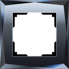 Werkel Рамка на 1 пост (черный) W0011208