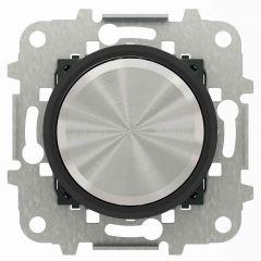Диммер поворотный для люминесцентных ламп ABB Sky Moon cтекло чёрное 2CLA866090A1501
