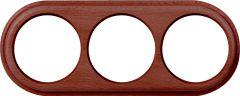 Werkel Рамка Legend на 3 поста (итальянский орех) WL15-frame-03