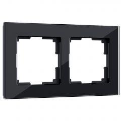 Werkel Рамка на 2 поста (черный) W0021108