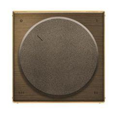 Лицевая панель ABB Sky переключателя на 4 положения античная латунь 2CLA855400A1201