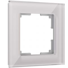 Werkel Рамка на 1 пост (дымчатый,стекло) W0011117