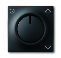 Лицевая панель ABB Impuls выключателя жалюзи чёрный бархат 2CKA006430A0378