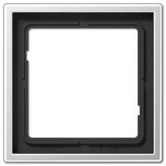 Рамка 1-постовая Jung LS 990 алюминий AL2981