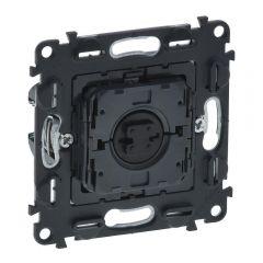 Выключатель управления жалюзи кнопочный Legrand Valena Мех In Matic 6A 250V безвинтовой зажим 752030