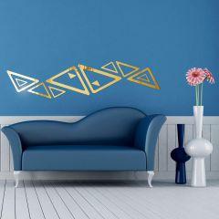 Декор настенный Ваша Светлость КАТЕТ-3 золото 1-01601FG Комплект наклеек