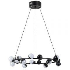 Подвесная светодиодная люстра Arte Lamp Dexter A3619SP-18BK