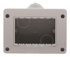 Коробка для накладного монтажа 3-модульная ABB Zenit IP40 N3391.1