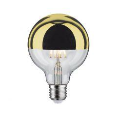 Paulmann Лампа светодиодная диммируемая E27 6W 2700K шар золотистый 28545
