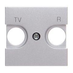 Лицевая панель ABB Zenit розетки TV-R серебро N2250.8 PL