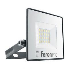 Светодиодный прожектор Feron LL-1000 20W 6400K 41538