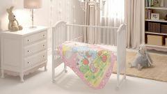 Baby nice Одеяло детское Земляничная поляна