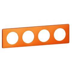 Рамка 4-постовая Legrand Celiane оранж пунктум 068764