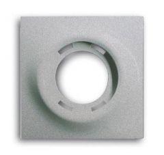 Лицевая панель ABB Impuls светового сигнализатора серебристо-алюминиевый 2CKA001753A0051