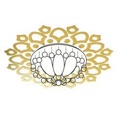Декор настенно-потолочный Ваша Светлость АСТРАНЦИЯ-12 золото 2-00801FG Комплект наклеек