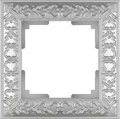 Werkel Рамка Antik на 1 пост (жемчужный) WL07-Frame-01