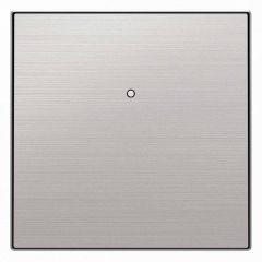 Лицевая панель ABB Sky выключателя одноклавишного нержавеющая сталь 2CLA853000A1401