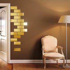 Декор настенный Ваша Светлость СЛИТОК-18 золото 1-00501FG Комплект наклеек