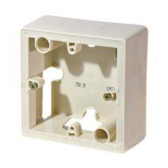 Коробка накладного монтажа 1-постовая Legrand Galea Valena слоновая кость 776131