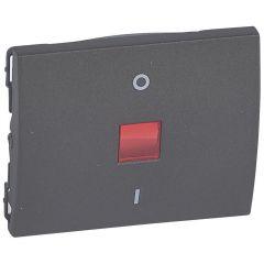 Клавиша Legrand Galea Life выключателя с индикацией темная бронза 771218